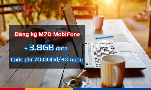 Cách đăng ký gói M70 của MobiFone
