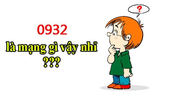 Đầu số 0932 thuộc nhà mạng Mobifone