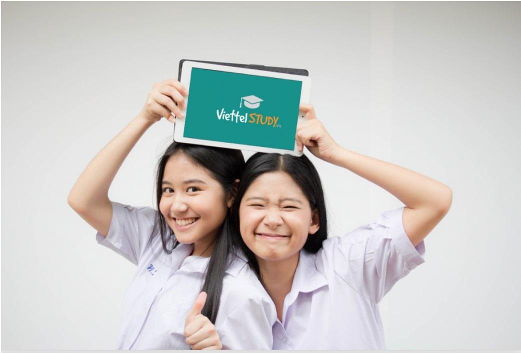 Ứng dụng Viettel Study phục vụ học tập
